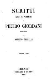 Opere di Pietro Giordani: Volume 10