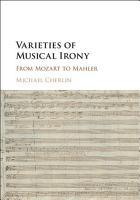 Varieties of Musical Irony PDF