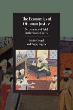 The Economics of Ottoman Justice