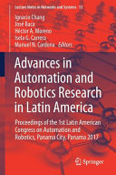 Advances in Automation and Robotics Research in Latin America PDF