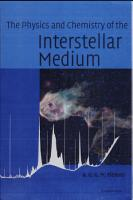 The Physics and Chemistry of the Interstellar Medium PDF