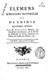 Élémens d'histoire naturelle et de chimie