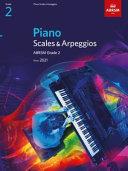 Piano Scales & Arpeggios, ABRSM Grade 2
