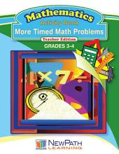 More Timed Math Problems Workbook