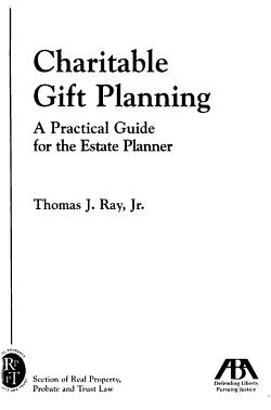 Charitable Gift Planning PDF