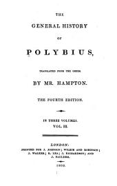 The General History of Polybius: Volume 3