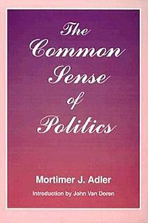The Common Sense of Politics Book