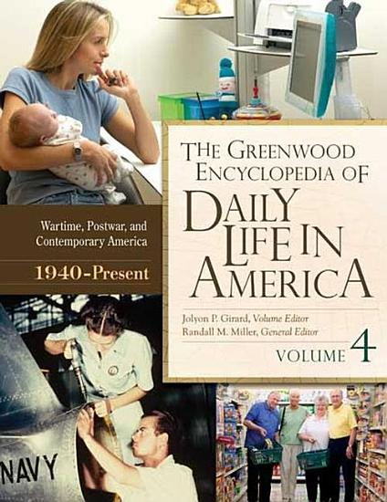 The Greenwood Encyclopedia of Daily Life in America  4 volumes  PDF