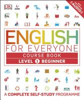 English for Everyone  Level 1  Beginner  Course Book PDF