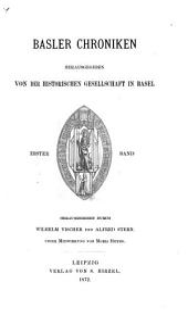 Basler Chroniken: Band 1