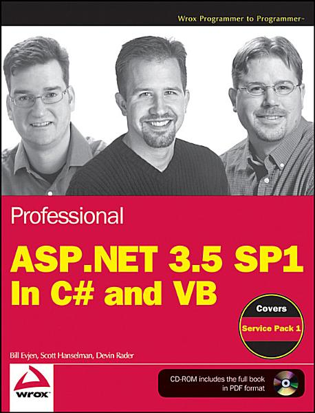 Professional ASP NET 3 5 SP1 Edition