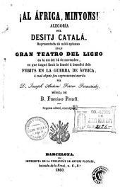 Los Catalans en África: crónica dramática dels voluntaris de Catalunya