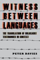 Witness Between Languages PDF
