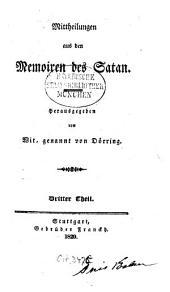 Mitteilungen aus den Memoiren des Satan: Band 3