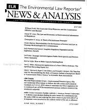 Environmental Law Reporter PDF
