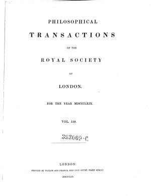 Philosophical Transactions  Giving Some Accompt of the Present Undertakings  Studies  and Labours of the Ingenious in Many Considerable Parts of the World PDF