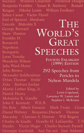 The World s Great Speeches PDF