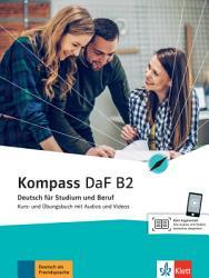 Kompass DaF B2  Kurs  und   bungsbuch mit Audios und Videos PDF