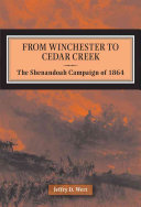 From Winchester to Cedar Creek PDF