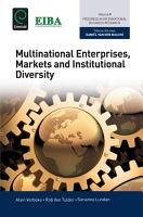 Multinational Enterprises  Markets and Institutional Diversity PDF