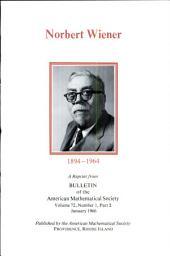 Norbert Wiener, 1894-1964