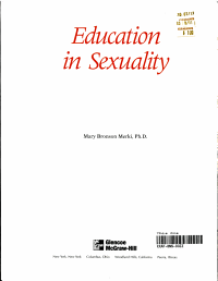 Glencoe Health Module  Education In Sexuality Student Edition