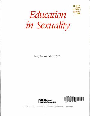 Glencoe Health Module  Education In Sexuality Student Edition PDF