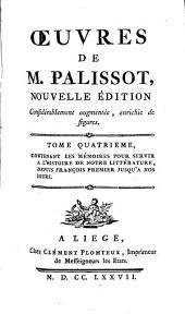 Œuvres de M. Palissot