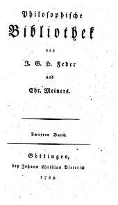 Philosophische Bibliothek: Zweyter Band, Band 2