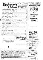 Handweaver   craftsman PDF