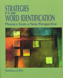 Strategies For Word Identification