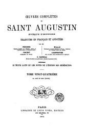 Œuvres complètes de Saint Augustin: Volume24