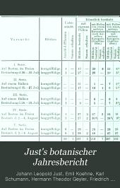 Just's botanischer Jahresbericht: Systematisch geordnetes Repertorium der botanischen Literatur aller Länder, Band 29,Ausgabe 2