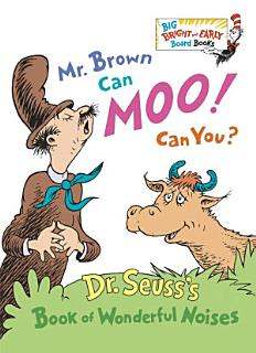 Mr  Brown Can Moo  Can You  Book