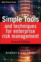 Simple Tools and Techniques for Enterprise Risk Management PDF