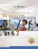 Essentials of Business Communication PDF