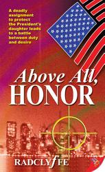 Above All Honor Book PDF