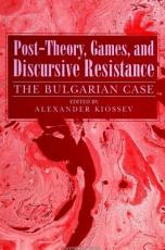Post Theory  Games  and Discursive Resistance PDF