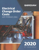 Electrical Change Order Costs with Rsmeans Data  60230 PDF