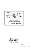 Trinity   Triunity PDF