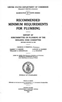 Recommended Minimum Requirements for Plumbing PDF