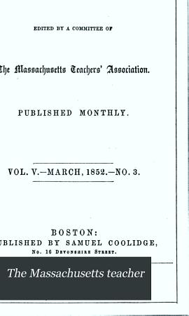 The Massachusetts Teacher PDF