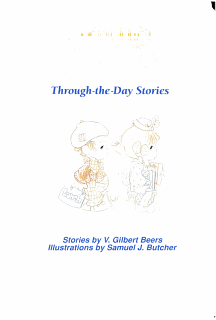 Precious Moments Through the Day Stories Book