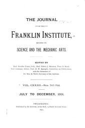 Journal of the Franklin Institute: Volume 132