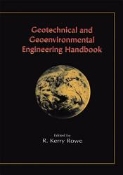 Geotechnical and Geoenvironmental Engineering Handbook PDF