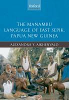 The Manambu Language of East Sepik  Papua New Guinea PDF