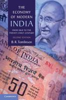 The Economy of Modern India PDF