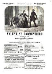 Valentine Darmentière drame en cinq actes par Ph. Dumanoir et Ad. d'Ennery