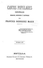 Cantos populares españoles: Volúmenes 4-5