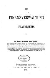 Die finanzverwaltung Frankreichs